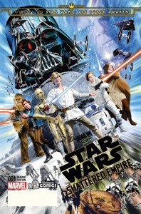 Shattered Empire #1 (Mike Mayhew Yesteryear Comics Variant Cover) (09.09.2015)