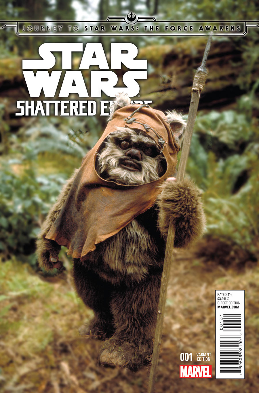 Shattered Empire #1 (Movie Variant Cover) (09.09.2015)