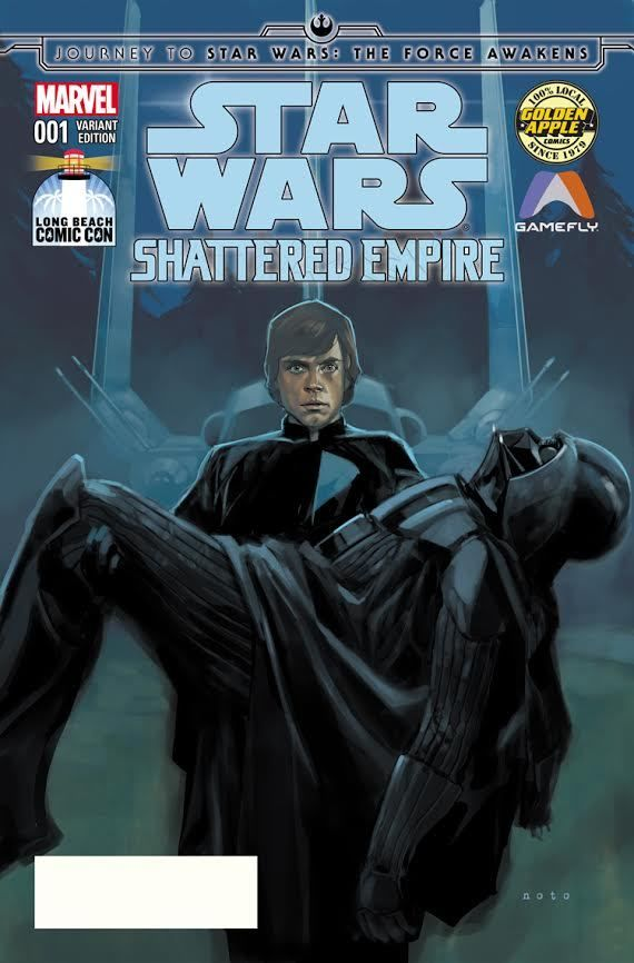 Shattered Empire #1 (Phil Noto Long Beach Comic Con Variant Cover) (12.09.2015)