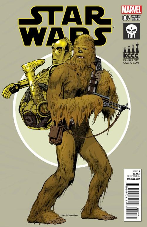 Star Wars #7 (Kevin Nowlan Elite Comics/KCCC Variant Cover) (07.08.2015)