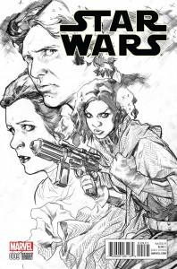 Star Wars #9 (Stuart Immonen Sketch Variant Cover) (16.09.2015)