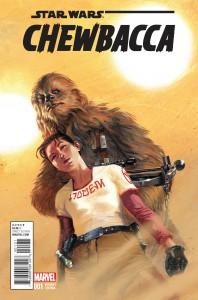 Chewbacca #1 (Gabriele Dell'Otto Variant Cover) (14.10.2015)
