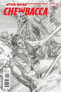 Chewbacca #1 (Alex Ross Sketch Variant Cover) (14.10.2015)