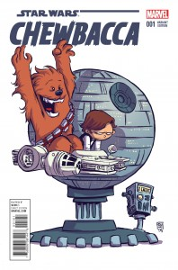 Chewbacca #1 (Skottie Young Variant Cover) (14.10.2015)