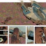 Phil Notos Chewbacca-Skizzen, Bild 7