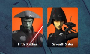 Fifth Brother und Seventh Sister