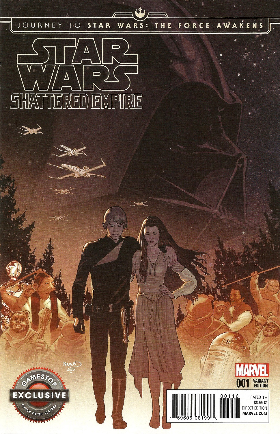 Shattered Empire #1 (Paul Renaud GameStop Variant Cover) (09.09.2015)