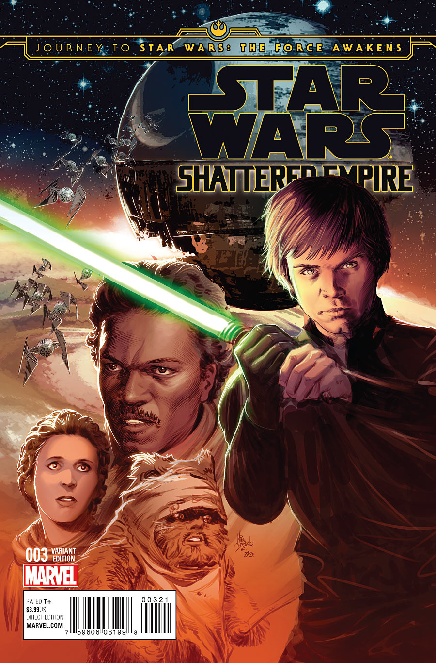 Shattered Empire #3 (Mike Deodato Variant Cover) (14.10.2015)