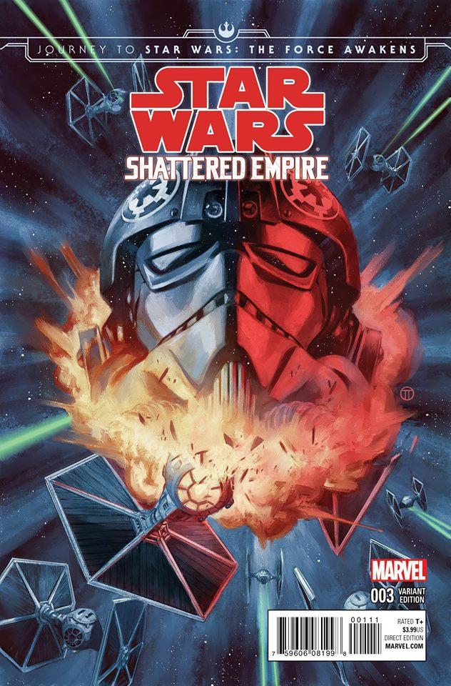 Shattered Empire #3 (Julian Totino Tedesco DHC Variant Cover) (14.10.2015)