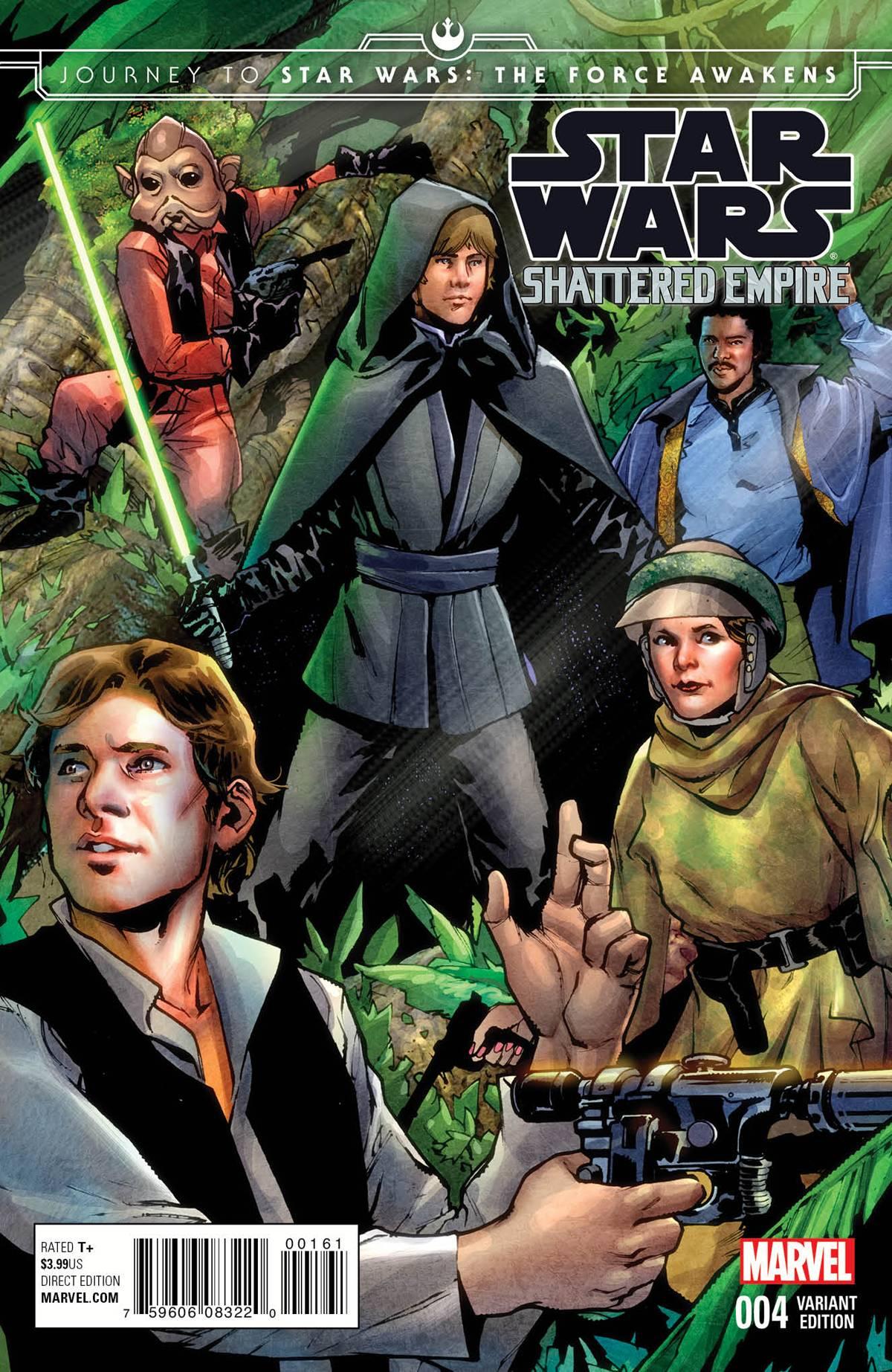 Shattered Empire #4 (Sara Pichelli Variant Cover) (21.10.2015)