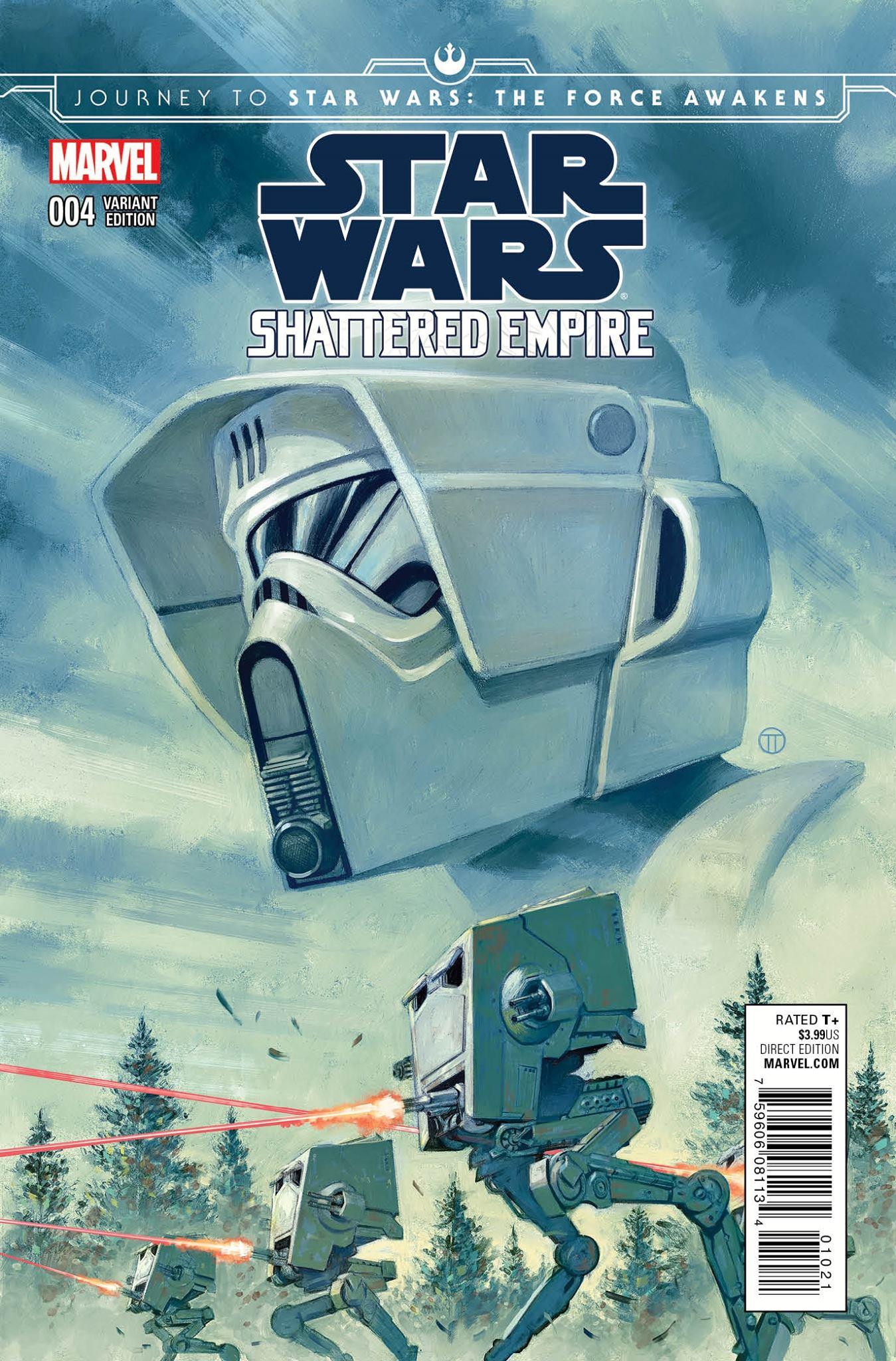 Shattered Empire #4 (Julian Totino Tedesco DHC Variant Cover) (21.10.2015)