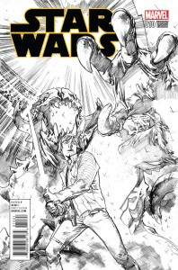 Star Wars #10 (Stuart Immonen Sketch Variant Cover) (07.10.2015)