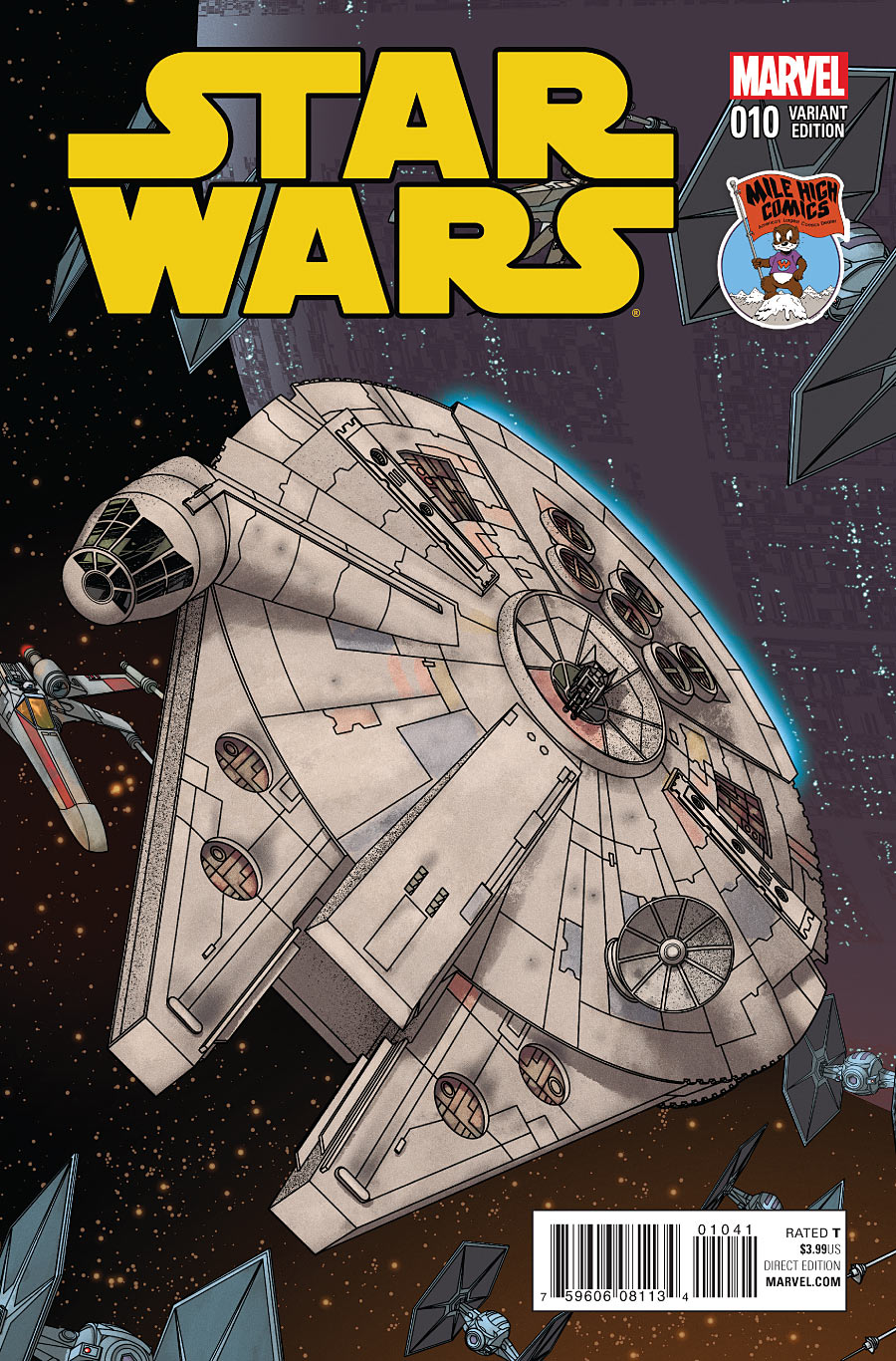 Star Wars #10 (Mike McKone Mile High Comics Connecting Variant Cover) (07.10.2015)