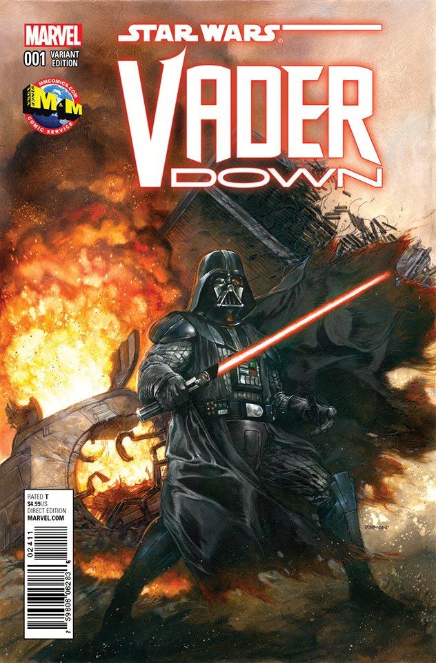 Vader Down #1 (Dave Dorman Variant Cover) (18.11.2015)