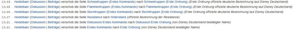 Kommentare des Heidelberger Spieleverlags in der Jedipedia