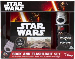 Star Wars Book and Flashlight Set (15.01.2016)