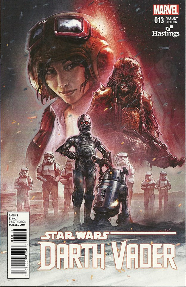 Darth Vader #13 (Aleksi Briclot Hastings Variant Cover) (25.11.2015)