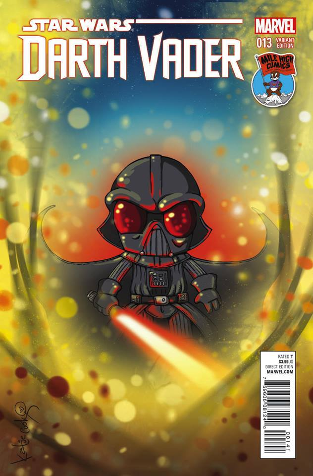 Darth Vader #13 (Katie Cook Mile High Comics Variant Cover) (25.11.2015)