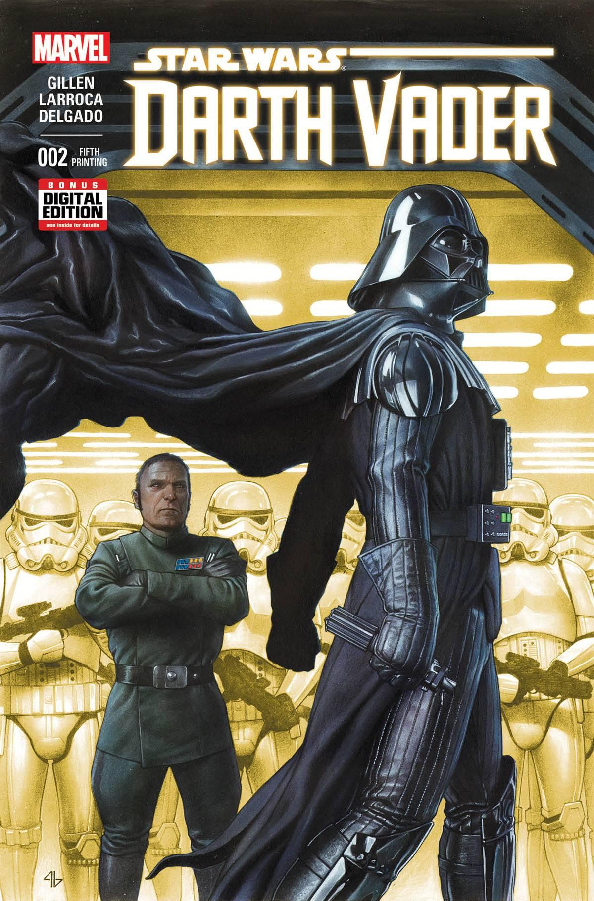 Darth Vader #2 (5th Printing) (11.11.2015)