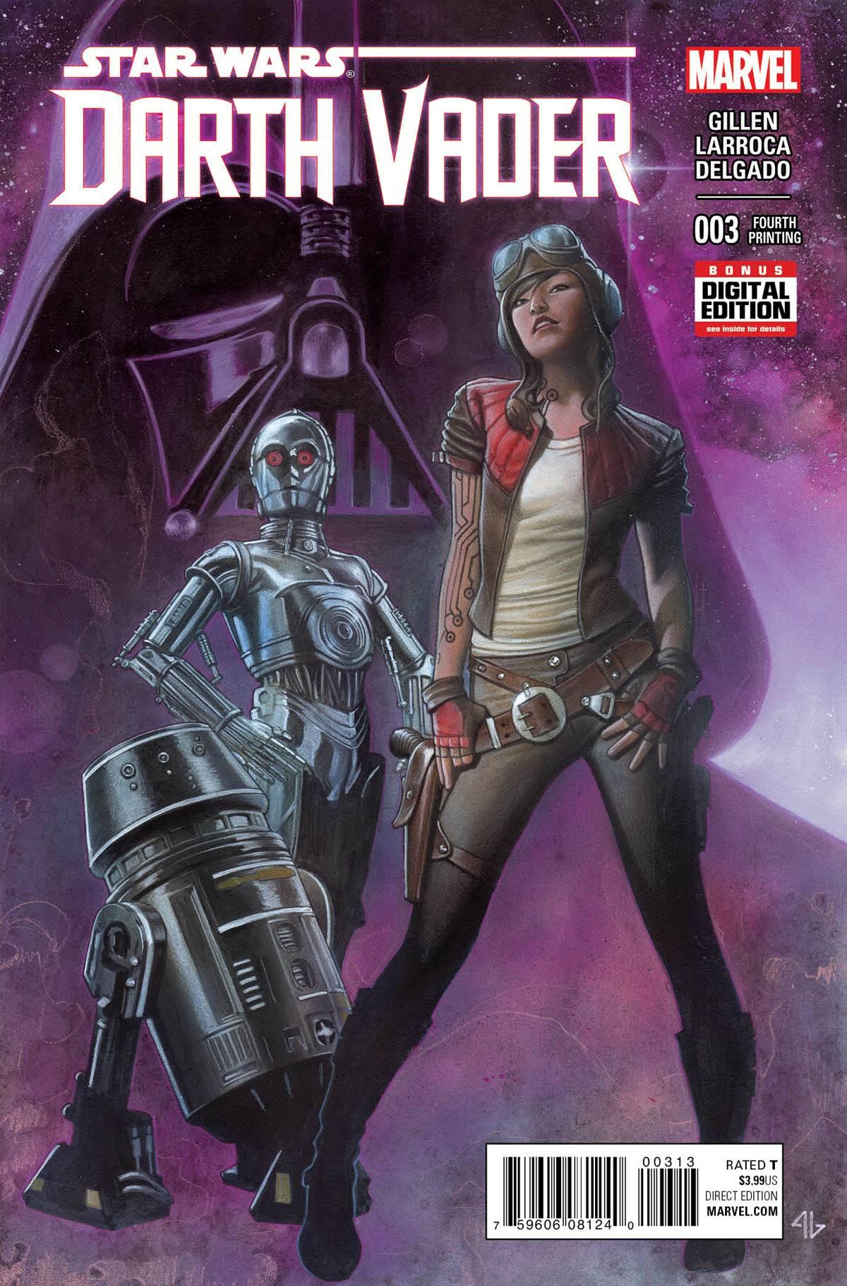 Darth Vader #3 (4th Printing) (11.11.2015)