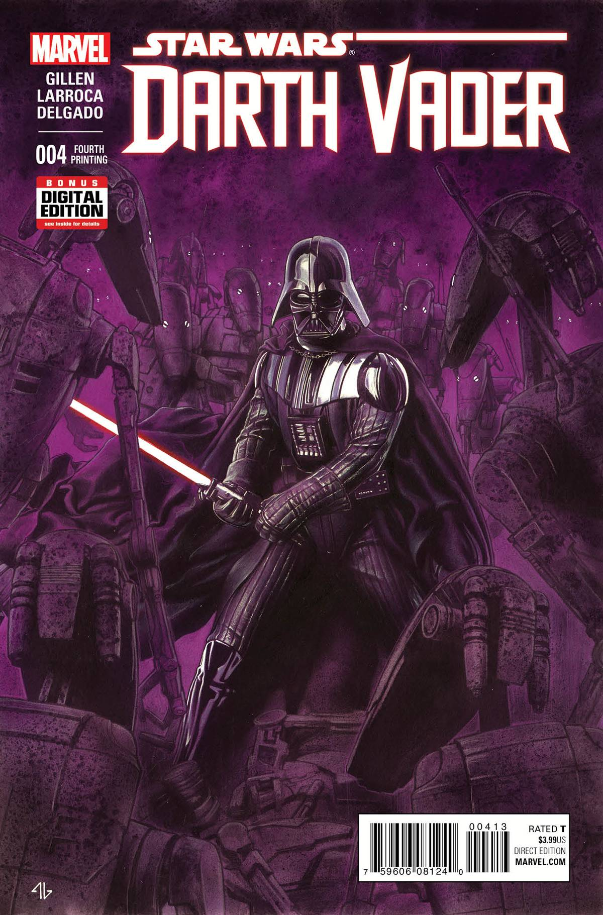 Darth Vader #4 (4th Printing) (11.11.2015)