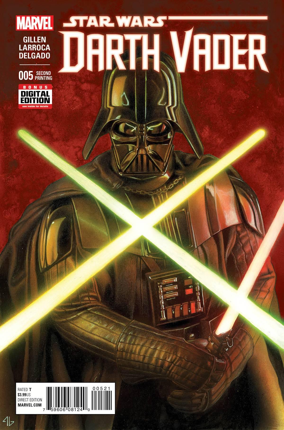 Darth Vader #5 (2nd Printing) (11.11.2015)