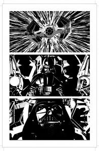 Mike Deodatos Vader Down-Zeichnungen - Bild 1