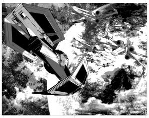 Mike Deodatos Vader Down-Zeichnungen - Bild 3
