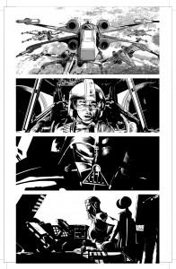 Mike Deodatos Vader Down-Zeichnungen – Bild 4