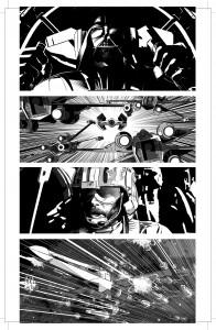 Mike Deodatos Vader Down-Zeichnungen – Bild 5
