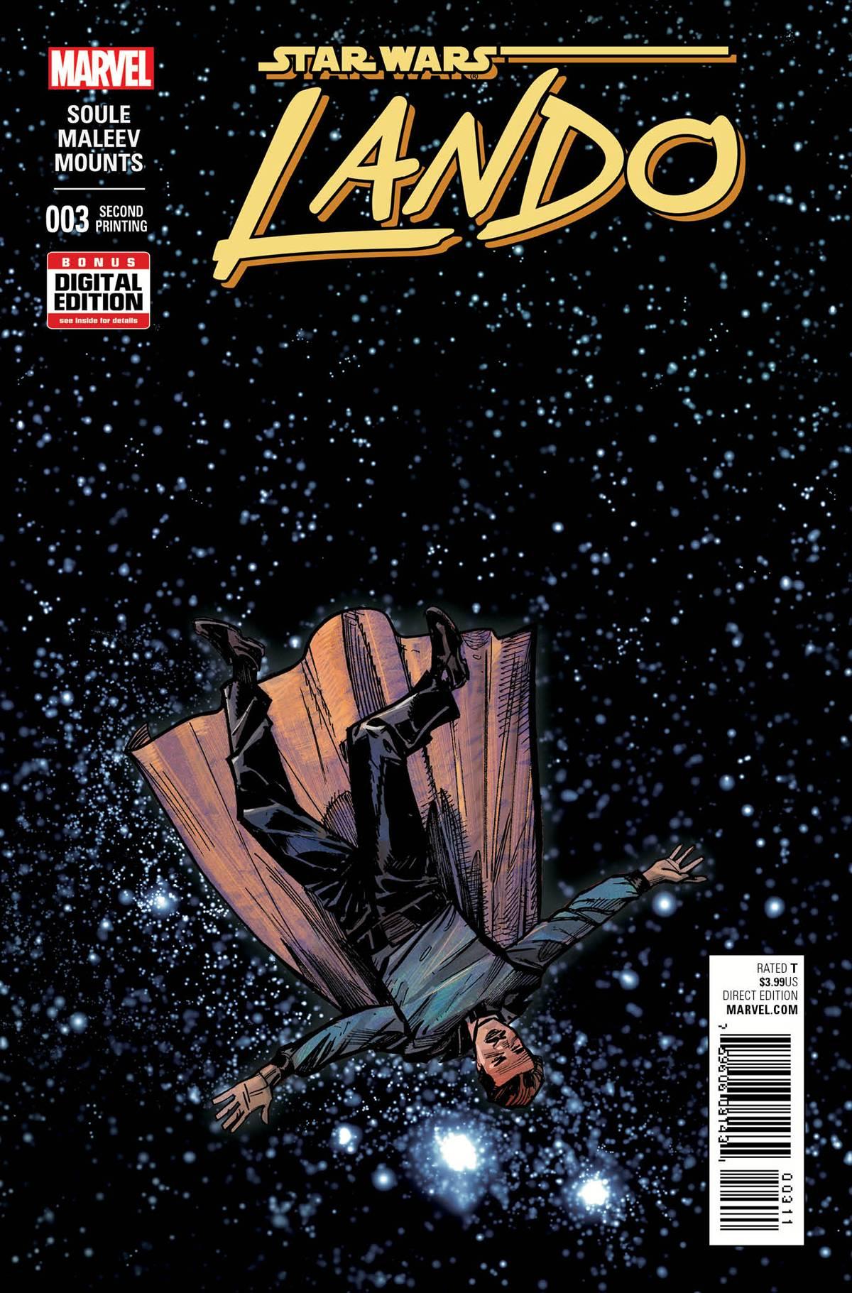 Lando #3 (2nd Printing) (04.11.2015)