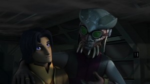 Ezra und Hondo in <em>Star Wars Rebels</em>