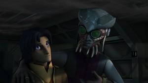 Ezra und Hondo in <em>Star Wars Rebels</em>