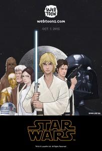 Star Wars-Webcomic von Hong Jacga
