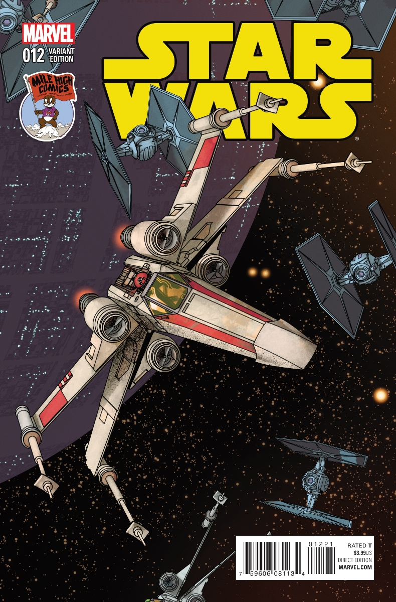 Star Wars #12 (Mike McKone Mile High Comics Connecting Variant Cover) (18.11.2015)