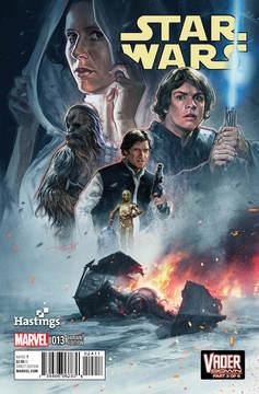 Star Wars #13 (Aleksi Briclot Hastings Variantcover) (02.12.2015)