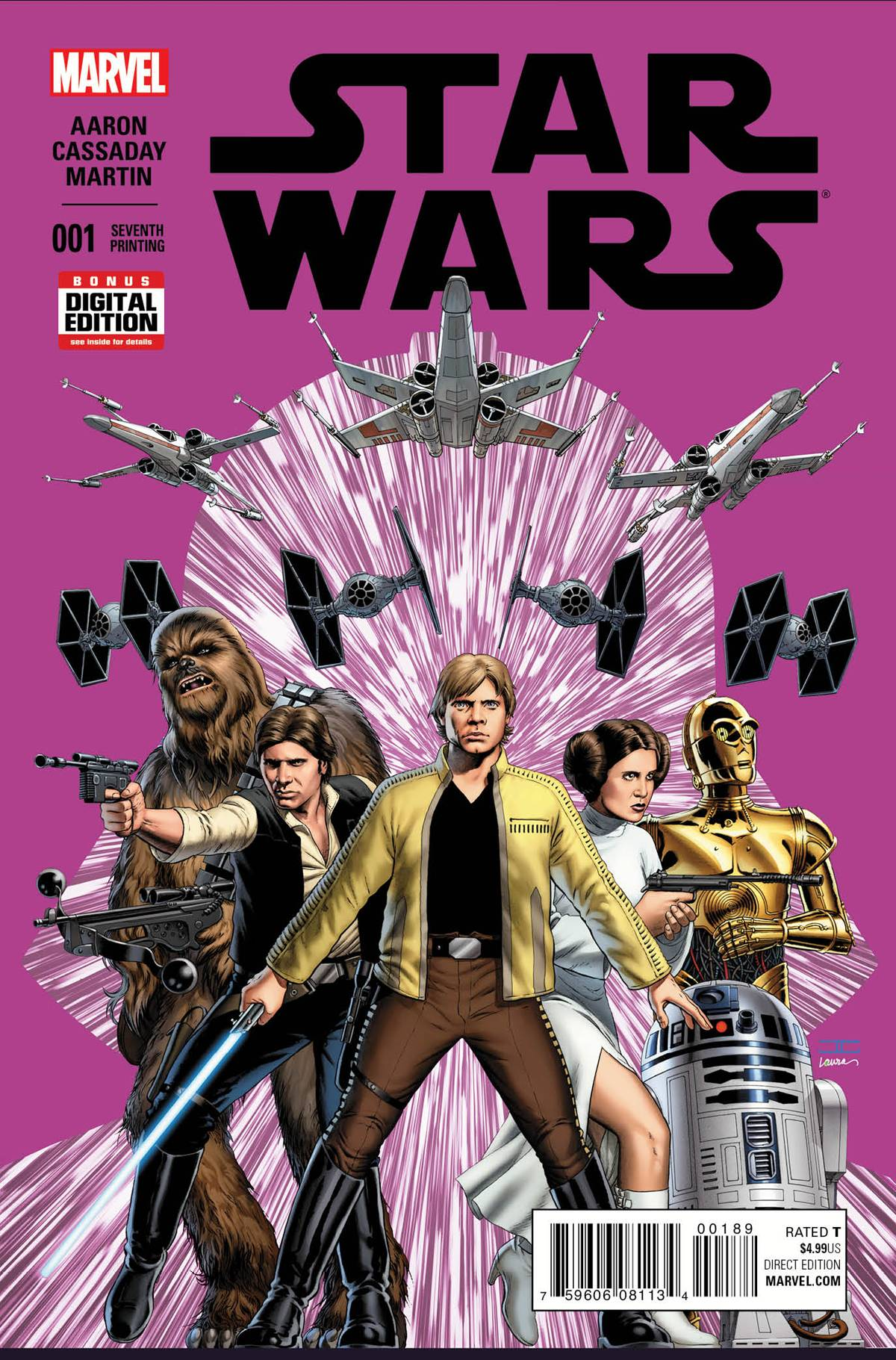 Star Wars #1 (7th Printing) (04.11.2015)