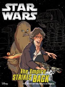 <em>The Empire Strikes Back</em> (Filmcomic von Editora Abril)
