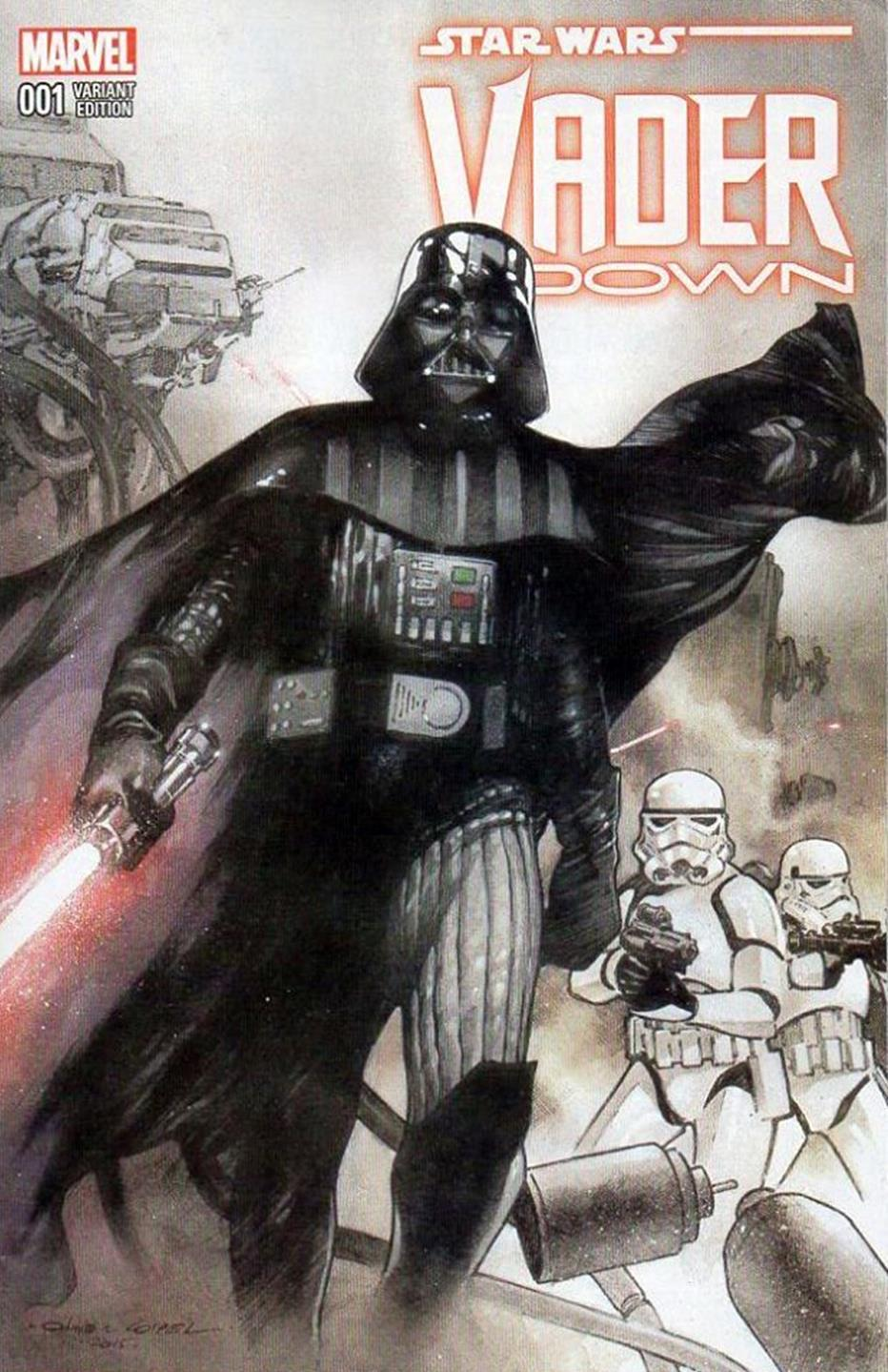 Vader Down #1 (Olivier Coipel Dynamic Forces Variant Cover) (18.11.2015)