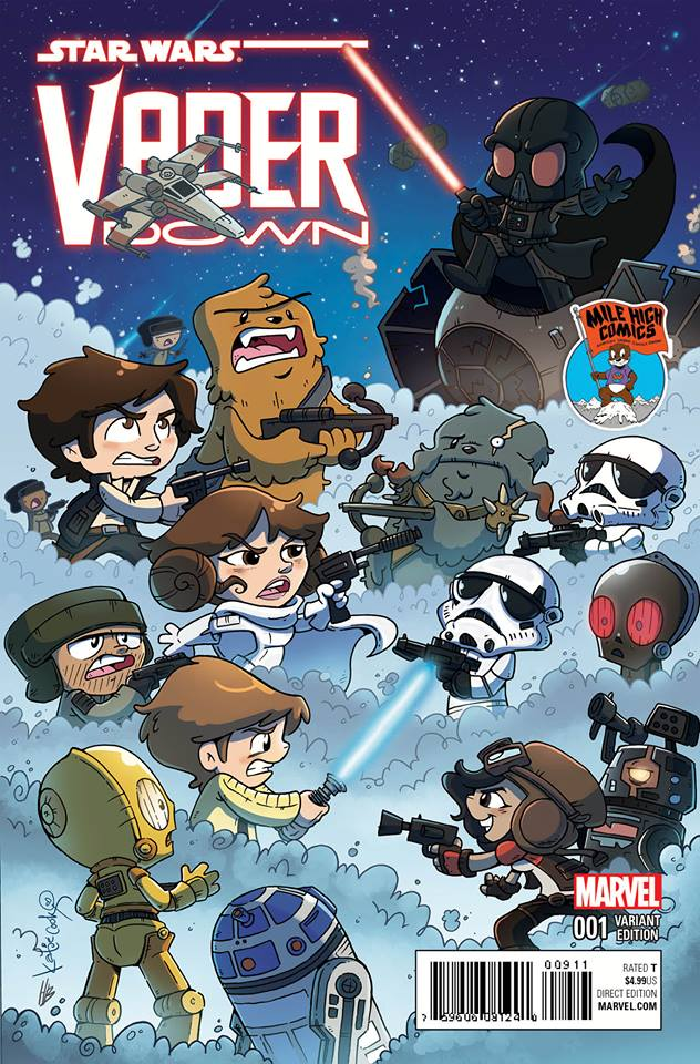 Vader Down #1 (Katie Cook Mile High Comics Variant Cover) (18.11.2015)