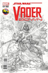 Vader Down #1 (Dave Dorman M&M Comics Sketch Variant Cover) (18.11.2015)