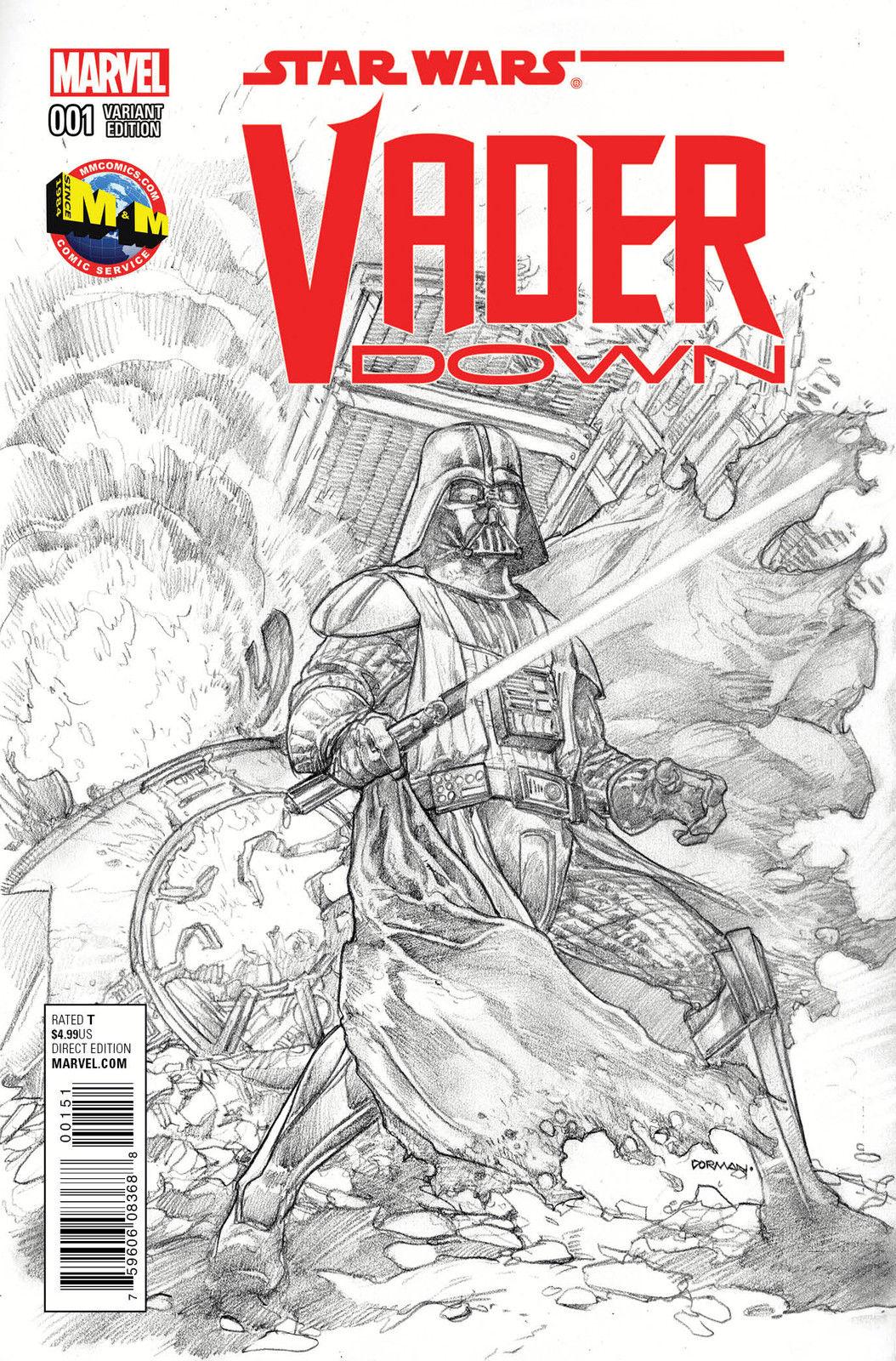 Vader Down #1 (Dave Dorman M&M Comics Sketch Variant Cover) (18.11.2015)