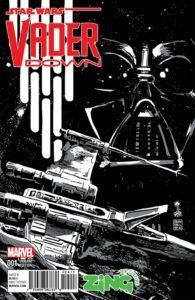 Vader Down #1 (Francesco Francavilla ZiNG Pop Culture Sketch Variant Cover)