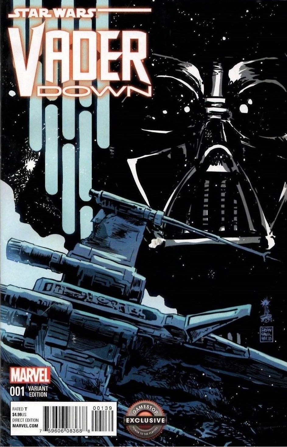 Vader Down #1 (Francesco Francavilla GameStop Variant Cover) (18.11.2015)