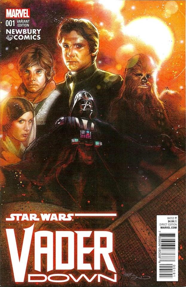 Vader Down #1 (Tony Harris Newbury Comics Variant Cover) (18.11.2015)
