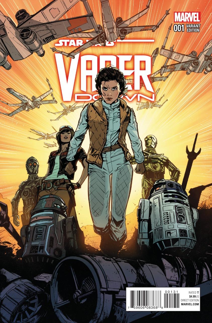 Vader Down #1 (Joëlle Jones Variant Cover) (18.11.2015)