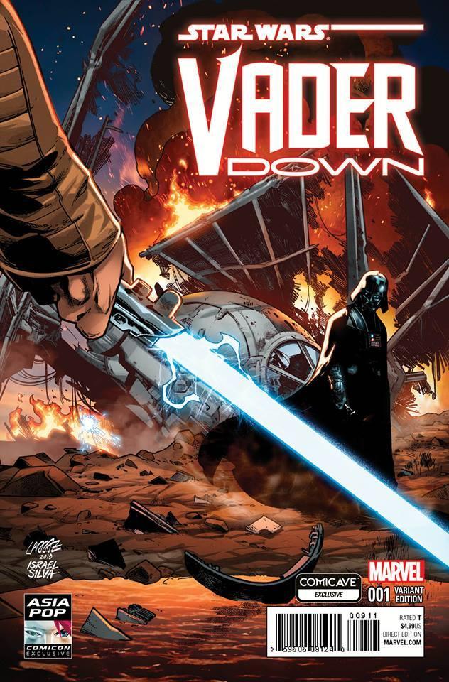 Vader Down #1 (Pepe Larraz Comicave/Asia Pop Comic-Con Variant Cover) (03.12.2015)