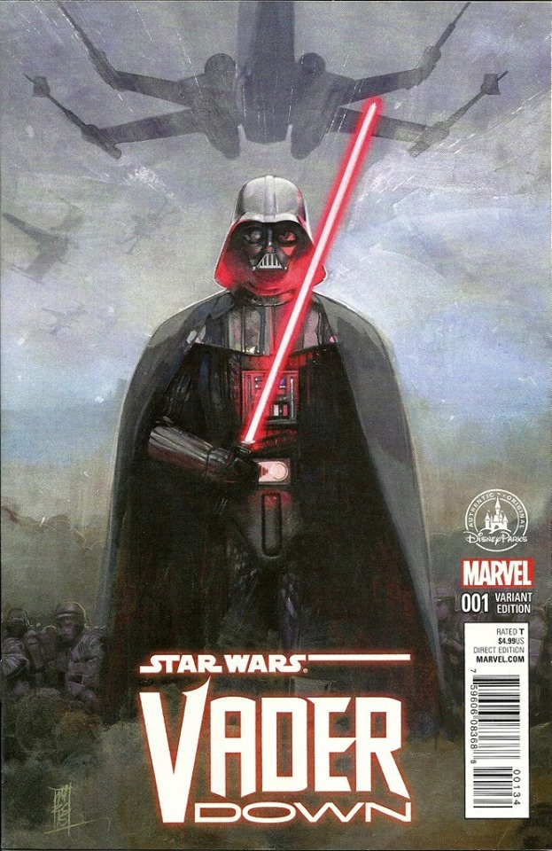 Vader Down #1 (Alex Maleev Disney Parks Variant Cover) (18.11.2015)