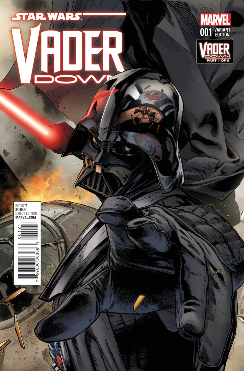 Vader Down #1 (Clay Mann Connecting Variant Cover A) (18.11.2015)