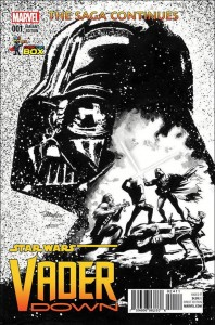 Vader Down #1 (Mike Mayhew Wizard World Comic Con Box Black & White Variant Cover) (18.11.2015)